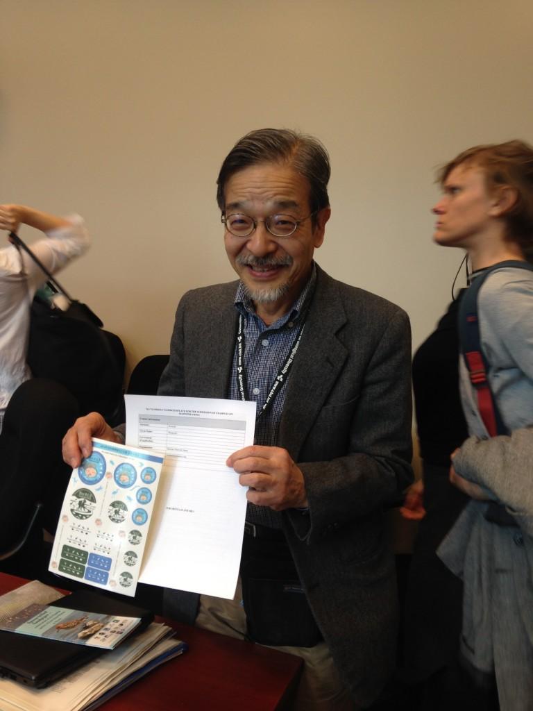 ラムサール・ネットワーク日本の柏木さんが、NGOミーティングで掲載の報告をされました。