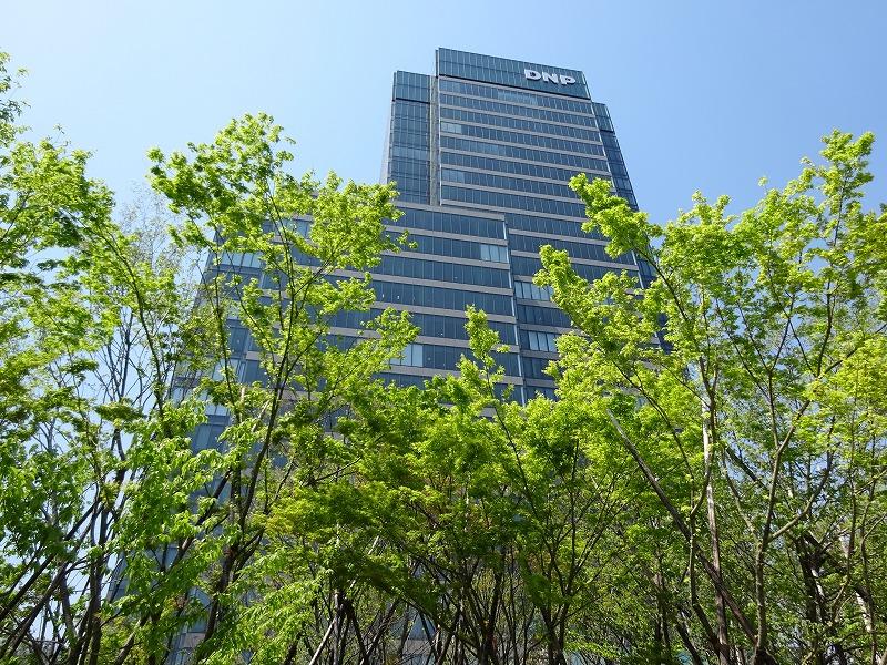 東京、市谷に広がる「市谷の杜」