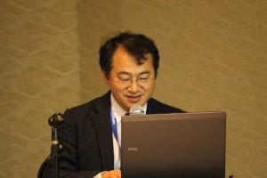 日本自然保護協会専務理事の吉田さんからUNDB-Jのメンバーの一人として、UNDB-Jの取組みについて紹介がされました。