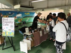 京都の珈琲職人 小川珈琲様の展示とご提供の様子