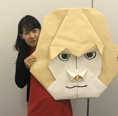 origami_gorira