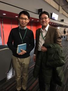 グリンピース中国のリショウさん。気候変動枠組み条約会議にも精通されている