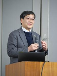 IUCN-J会長の渡邉による開会挨拶