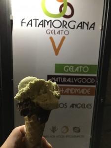 「FATAMORGANAのマダガスカルチョコレートとピスタチオ」