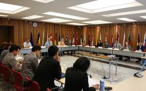 日本のNGOとEU代表団とのポスト2020枠組みの意見交換の様子